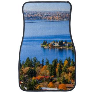 Splendid colors of fall at Bellevue Car Mat