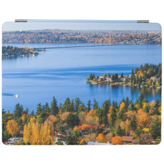 Splendid colors of fall at Bellevue iPad Cover