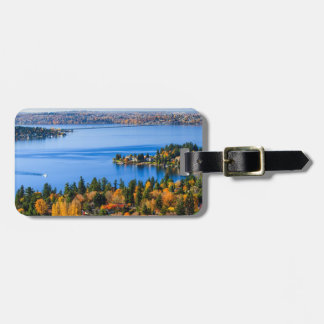 Splendid colors of fall at Bellevue Luggage Tag
