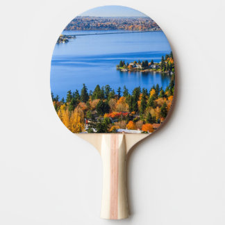 Splendid colors of fall at Bellevue Ping Pong Paddle