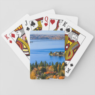 Splendid colors of fall at Bellevue Playing Cards