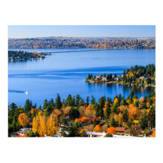 Splendid colors of fall at Bellevue Postcard