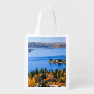 Splendid colors of fall at Bellevue Reusable Grocery Bag