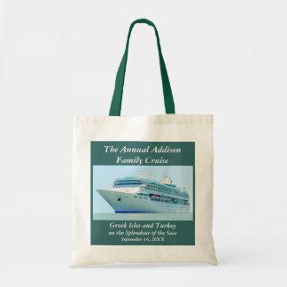Splendid Cruise Ship Customizable Budget Tote Bag