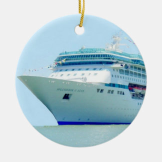 Splendid Cruise Ship Ornament