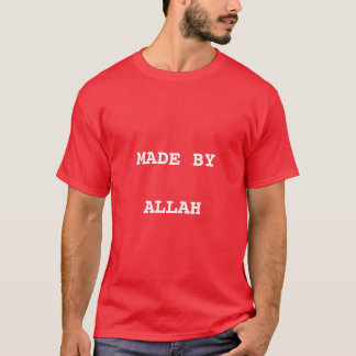 Splendid dawah tshirt with text made by Allah