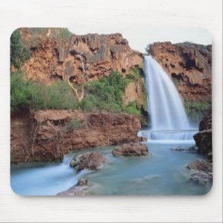 Splendid forest waterfalls, mousepad