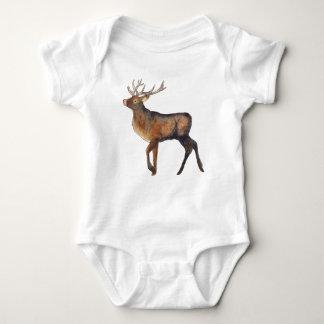 Splendid stag baby bodysuit