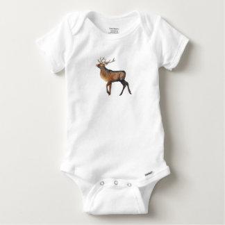 Splendid stag baby onesie
