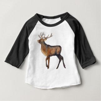 Splendid stag baby T-Shirt