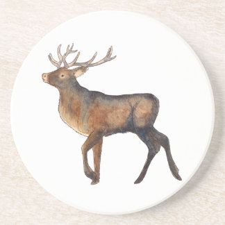Splendid stag coaster