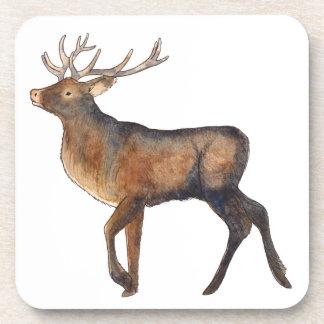 Splendid stag coaster