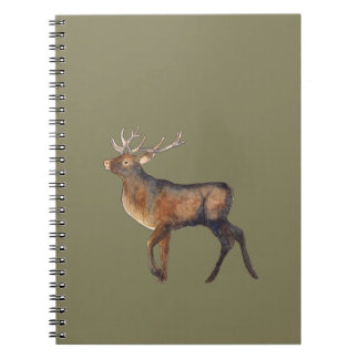 Splendid stag notebook