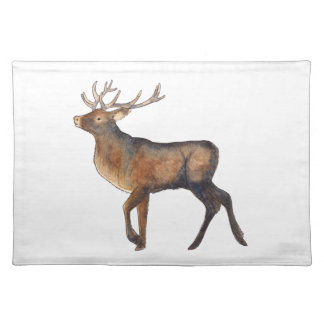 Splendid stag placemat