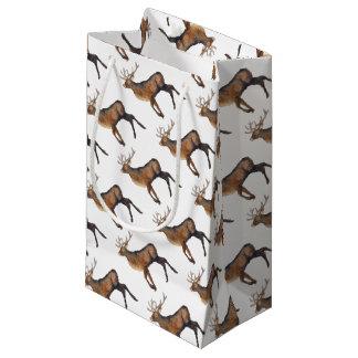Splendid stag small gift bag