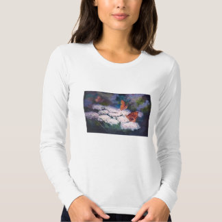 Splendor In the Meadow Butterfly T-shirt