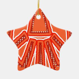 Splinter Fist Ceramic Star Decoration