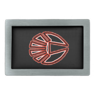 Splinter Fist Rectangular Belt Buckle