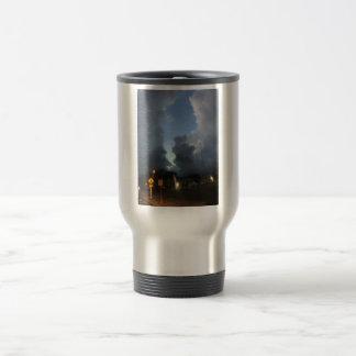 Split clouds travel mug