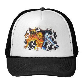Split personalities trucker hat