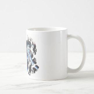 Split personalities coffee mugs