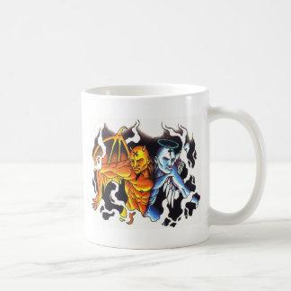 Split personalities mug