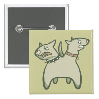 Split Personality Pinback Buttons