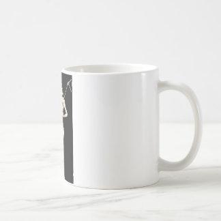 Split Personality Basic White Mug