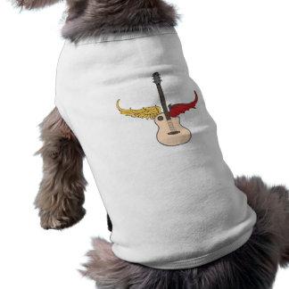 Split Personality Guitar Doggie T Shirt