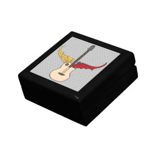 Split Personality Guitar Jewelry Boxes