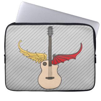 Split Personality Guitar Laptop Computer Sleeve