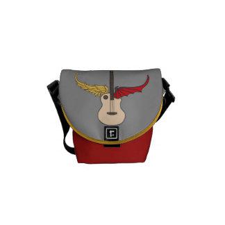 Split Personality Guitar Messenger Bags