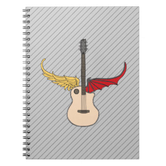 Split Personality Guitar Note Books