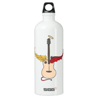 Split Personality Guitar (w/ tail halo) SIGG Traveler 1.0L Water Bottle