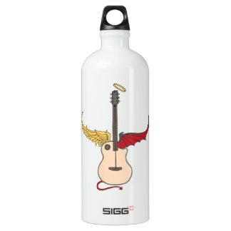 Split Personality Guitar (w/ tail halo) SIGG Traveler 1.0L Water Bottle