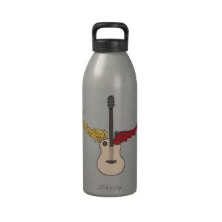 Split Personality Guitar Water Bottles