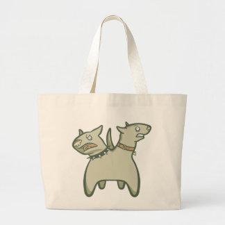 Split Personality Jumbo Tote Bag