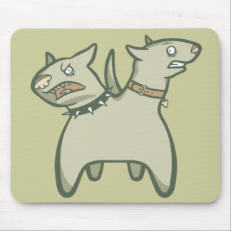 Split Personality Mouse Pad