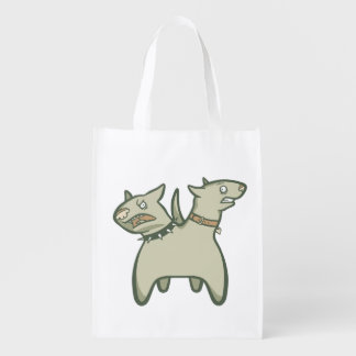 Split Personality Reusable Grocery Bag