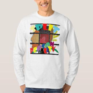 Split personality tshirts