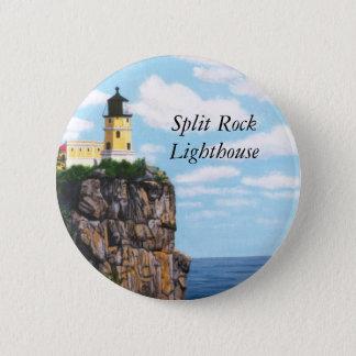 Split Rock Lighthouse 6 Cm Round Badge