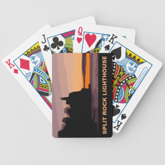 SPLIT ROCK LIGHTHOUSE BICYCLE PLAYING CARDS