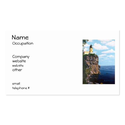 Split Rock Lighthouse Business Cards