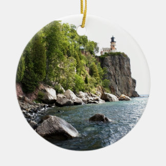Split Rock Lighthouse Christmas Ornament