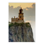 Split Rock Lighthouse Close-up Poster