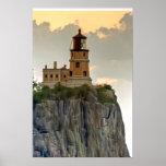 Split Rock Lighthouse Close-up Print