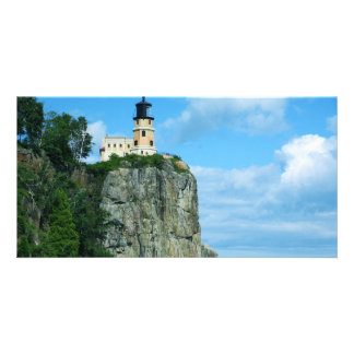 Split Rock Lighthouse Customized Photo Card