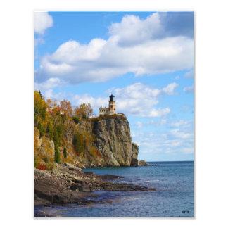 Split Rock Lighthouse Print Photographic Print