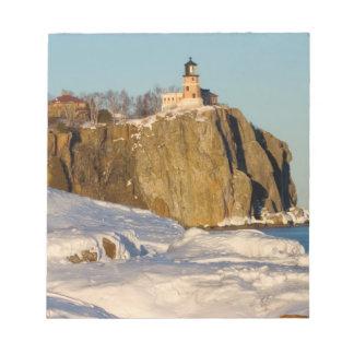 Split Rock Lighthouse State Park on Lake Notepad