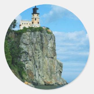 Split Rock Lighthouse Round Sticker